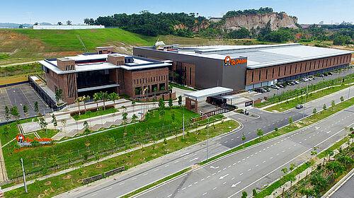 Вид з повітря на комплекс BD Asia