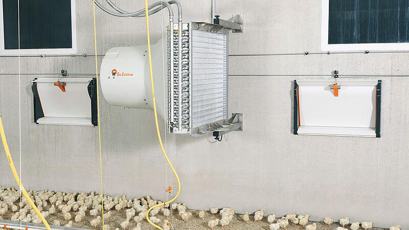 HeatMaster: оптимальний температурний режим в пташнику