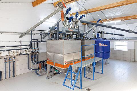 HydroMix liquid feeding system